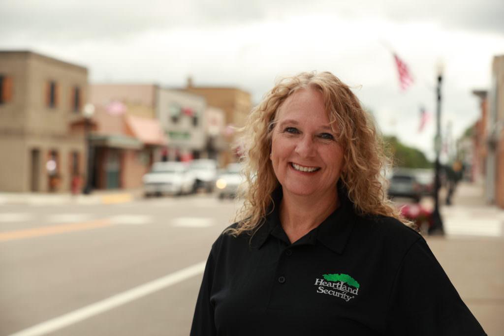 picture of Heartland Security employee Dorinda Berscheit