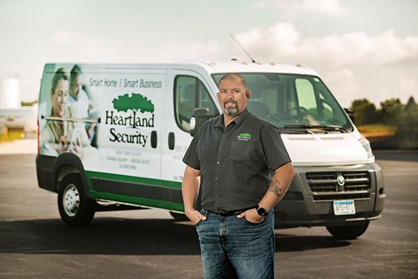 picture of Heartland Security employee Adam Hanson